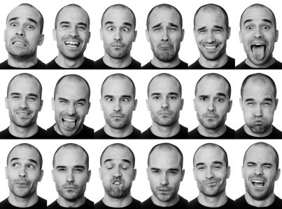 personality marketing - many faces of an actor